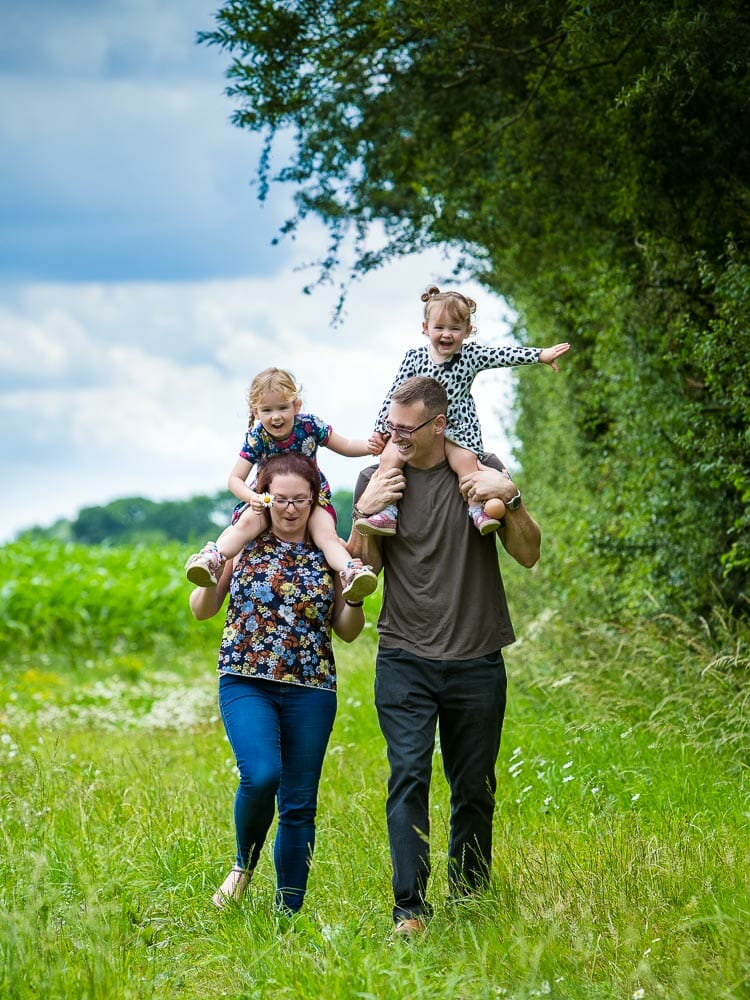Location Family Portraits - Photography by Mark Hewitson Photography of Thame