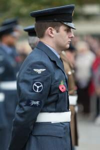 RAF at High Wycombe Remembrance Parade