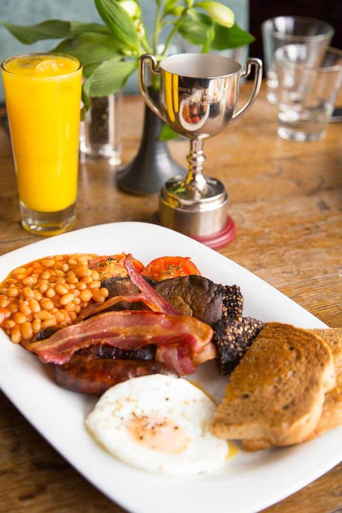 The Winning Big Breakfast from The Thatch, Thame, Oxfordshire by Mark Hewitson Photography of Thame