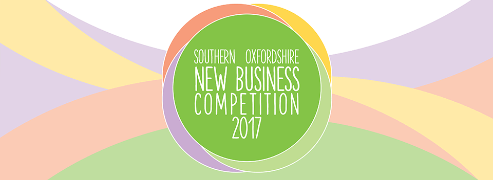 We are a finalist in the Southern Oxfordshire New Business Competition