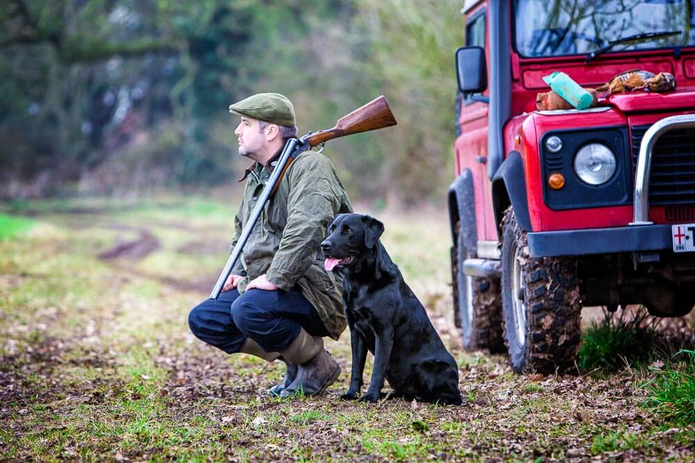 Owner and Dog portrait by Mark Hewitson Photography of Thame, Oxfordshire