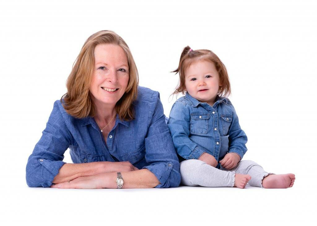 Grandma & Granddaughter by Mark Hewitson Photography of Thame, Oxfordshire